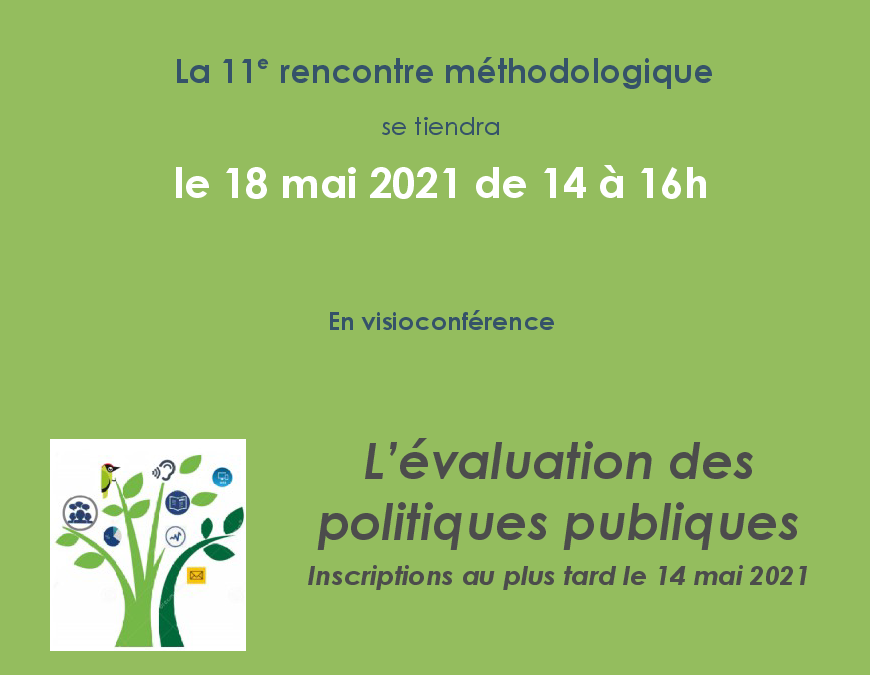 11th methodological meeting – Evaluation of public housing assistance policies